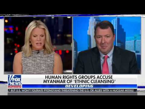 Discussing growing criticism over Myanmar humanitarian crisis on The Story with Martha MacCallum