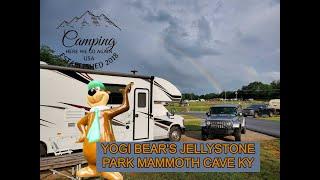 Yogi Bear's Jellystone Pąrk Mammoth Cave, Kentucky Campground Review