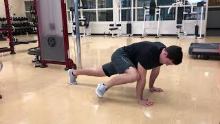 Plank Knee to Elbow - Exercise Library