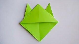 оригами закладка уголок для книг // origami bookmark corner