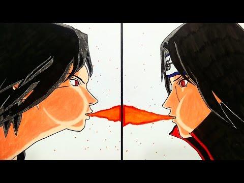 drawing-sasuke-and-itachi