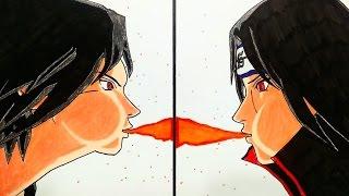 Drawing Sasuke and Itachi