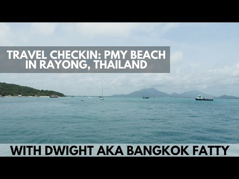 Travel Checkin: PMY Beach in Rayong, Thailand