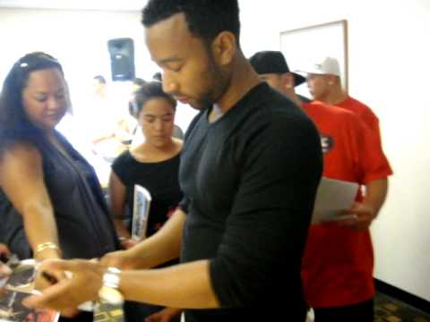 """Meet and Greet Event"" with John Legend in Honolulu, Hawaii"