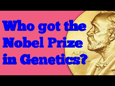 noble prize winner genetics physiology and medicine 1933 to 2006
