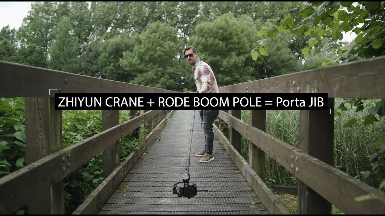 Zhiyun Crane Rode Boom Pole Jib Youtube Tripod For 3axis M Smooth Q 3