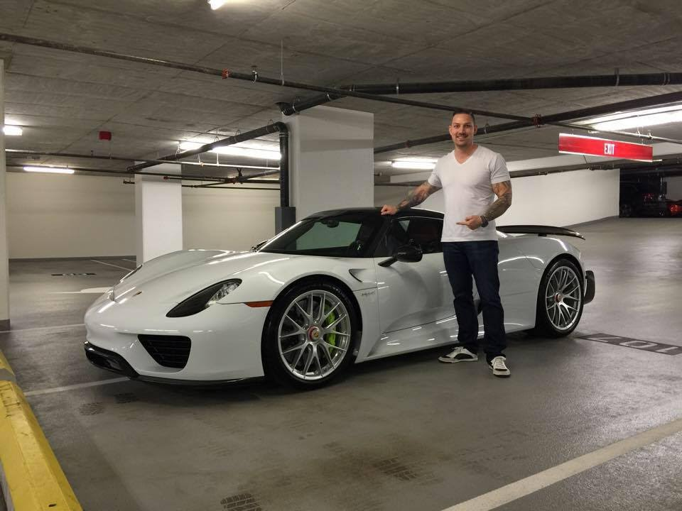 porsche 918 spyder white and red. porsche 918 wiessach package white on red leather sr auto group vancouver youtube spyder and s