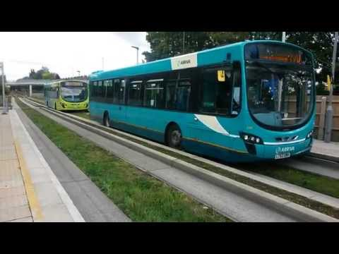 Luton & Dunstable Guided Busway October 2015