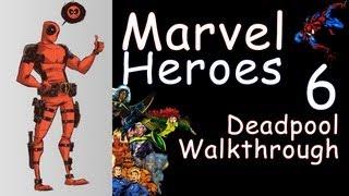 Marvel Heroes Deadpool Walkthrough # Experiment Q-36 Prototype (Gameplay/1080p pc)