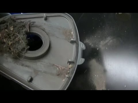 Unboxing Shark Navigator, Lift-Away, DLX. Part 2 not so good filter empty!