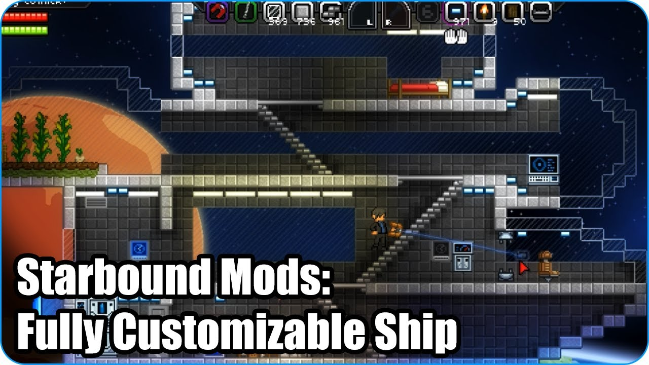 Starbound Wiring Mod Best Secret Diagram Station In Mods Fully Customizable Ship Youtube Outfit Apex