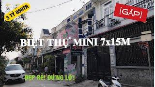 Bán biệt thự Hóc Môn 🏠 đẹp rẻ 7x15m giá chỉ 3 tỷ 850 Rin Rin Park