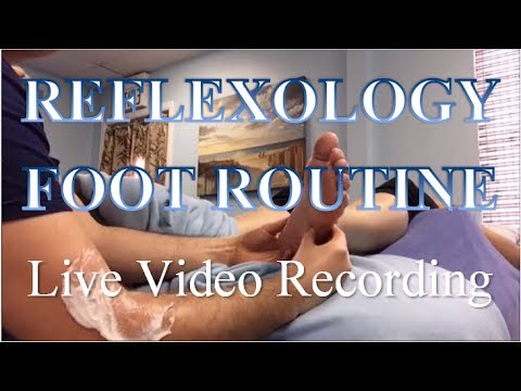 Full Foot Reflexology Session Technique 60min