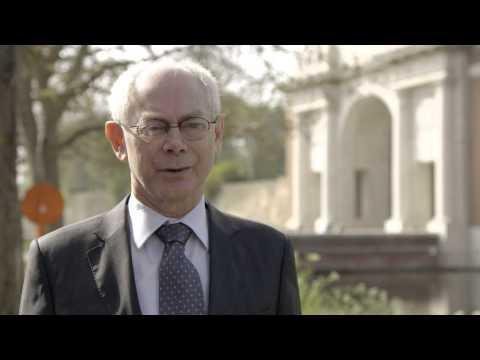 Europe Day 2014 - Herman Van Rompuy on the European project