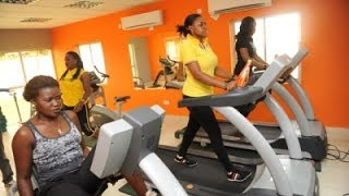 How to keep fit in Nigeria - Expensive & Homemade Gyms!