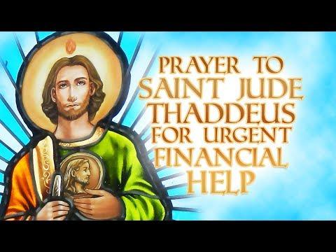 Prayer To Saint Jude Thaddeus For Urgent Financial Help - POWERFUL MIRACLE PRAYER!