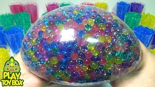 Water Color Balloons POP Clay Orbeez Toys Learn Colors