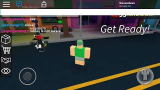 HOW TO PLAY ROBLOX ASSASSIN MOBILE! SNEASK PEAK OF MY INV