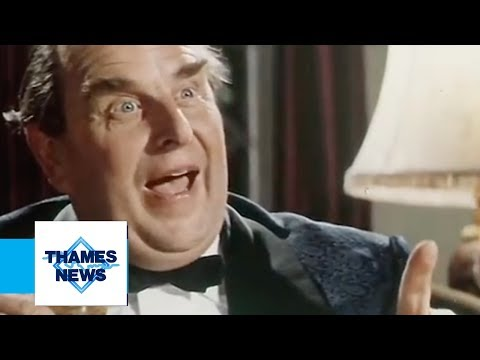 Robert Morley's Funeral  Thames  Archive Footage