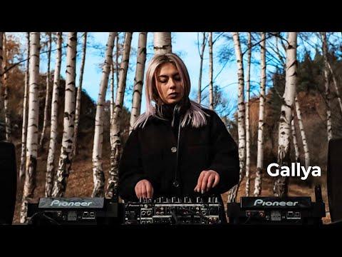 Gallya - Live @ Radio Intense Bulgaria, Vitosha Mountain 29.12.2020 / Techno DJ mix