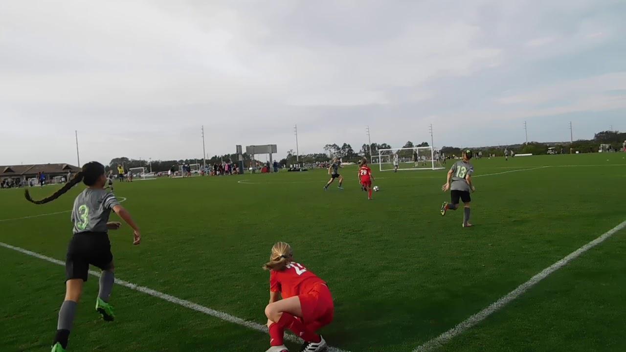 U11 Girls Beachside Impact Vs West Florida Flames 09g