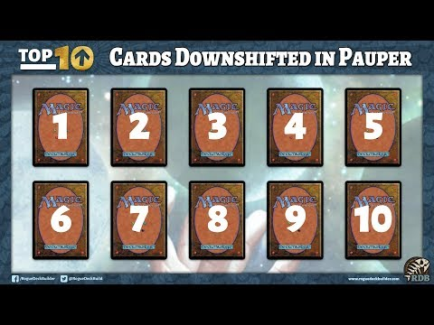 Top 10 Cards I want Downshifted for Pauper | Masters 25 MTG