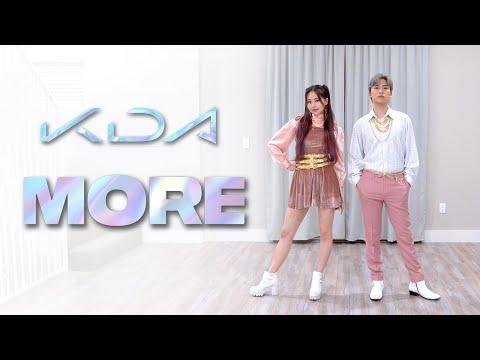 K/DA - 'MORE' Dance Cover | Ellen and Brian