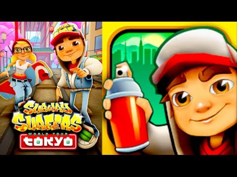Subway Surfers: TOKYO HIGH SCORE!!!! (iPhone Gameplay) - YouTube