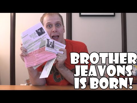 Brother Jeavons is born!