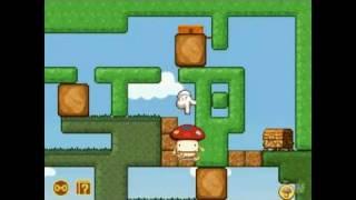 Boing! Docomodake DS Nintendo DS Trailer - Jump and Roll