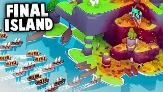 The BIGGEST Viking INVASION Attacks The FINAL ISLAND! (Bad North Ending Gameplay)