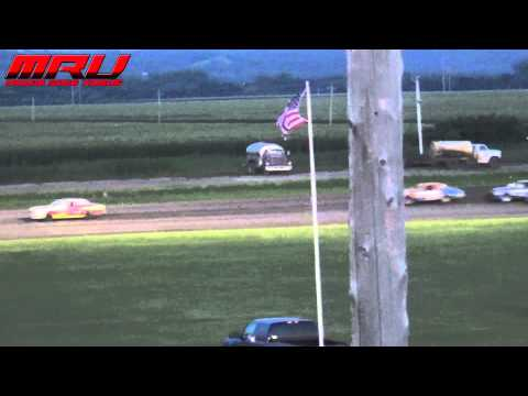 Hobby Stock Feature at Park Jefferson Speedway on July 25th, 2015