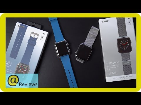 LAUT Watch Bands Review (for Apple Watch Series 1/2/3/4)