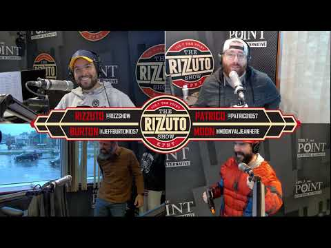 Burton faces his FIRST tush shot of the season! [Rizzuto Show]
