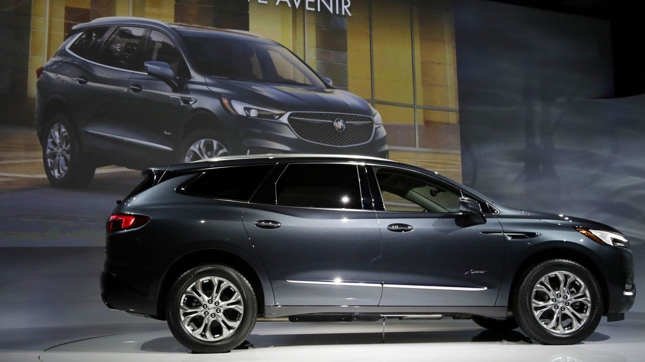 The New Buick Enclave Avenir Gm Laying Off At Michigan