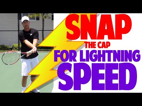 Tennis Forehand - Snap The Cap for Lightning Speed !!!