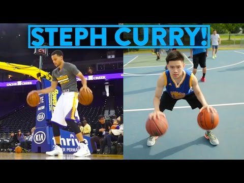 NBA SIGNATURE MOVES 7 - Stephen Curry's Most Amazing Moves!