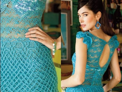 #4 Three-Tier Dress, Vogue Knitting Crochet 2013 Special Collector's Issue