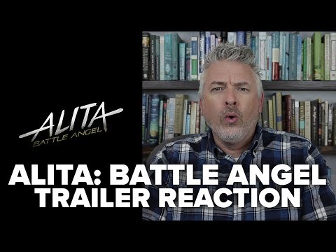 Alita: Battle Angel (2018) Trailer Reaction and Review