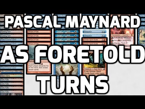 Channel PMayne - Modern As Foretold Turns (Deck Tech & Matches)