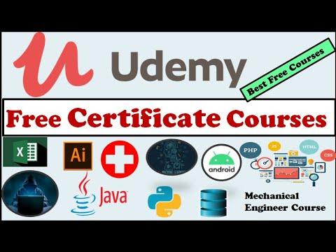 Udemy Free Courses Programming Medical Marketing Mechanical Engineer Software Testing Designing Youtube