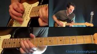 Sweet Emotion Guitar Lesson Pt.2 - Aerosmith - Solo