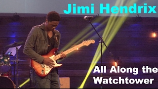 All along the watchtower - Jimi Hendrix cover by Cory Young ( Great Audio )