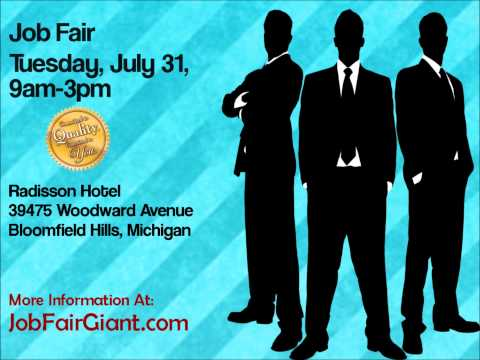 Detroit Job Fair July 31, 2012 - Get Ready! Get Hired!
