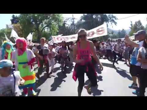 Miles de salteños participaron de la edición 28 de la Maratón de Hirpace