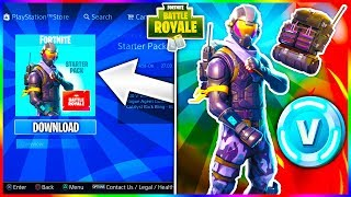 """How To Get """"ROGUE STARTER PACK"""" on Fortnite! DOWNLOAD """"ROGUE AGENT"""" SKIN & """"CATALYST""""! FREE V-BUCKS!"""