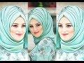 لفات حجاب وطرح سهلة وجميلة ج3   حجابات جديدة 2019