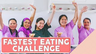 Fastest Eating Challenge [Laughtrip]