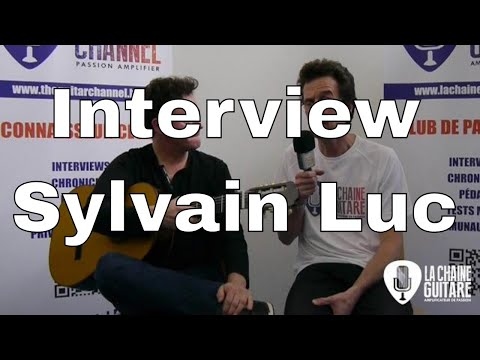 Interview Sylvain Luc - Guitare à la Main - Issoudun 2017
