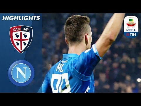 Cagliari 0-1 Napoli | Drama as Milik Nets Late Winner | Serie A